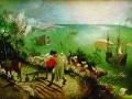 Питер Брейгель Старший. Падение Икара. Ок. 1558. Холст, масло