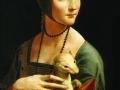 Леонардо да Винчи. Дама с горностаем. 1485-1490.