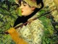 Эдуард Мане. Весна Жанна. 1881. X., м.