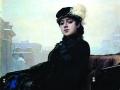 Иван Крамской. Неизвестная. 1883. X., м.