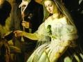 Василий Пукирев. Неравный брак. 1862. X., м., фрагмент