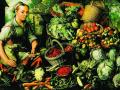 Джоаким Баукелэер. Торговка фруктами, овощами и домашней птицей. 1564. Х., м.