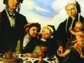Мартин ван Хемскерк. Семейный портрет. 1530. Х., м.