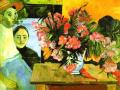 Поль Гоген. Букет цветов. 1891. Х., м.