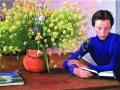 Дмитрий Жилинский. Жёлтый букет. 1975. Темпера