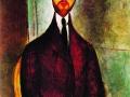 Амедео Модильяни. Портрет Леопольда Сборовски. 1917. Х., м.