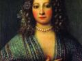 Джироламо Форабоско. Портрет куртизанки. 1665. Х., м.