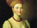 Иван Аргунов. Портрет неизвестной крестьянки. 1784. Х., м.