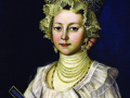 Неизвестный художник. Женский портрет. Россия. XIXвек. Х., м.