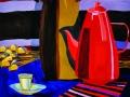 Анна Шклярук, 18 лет.  Красный чайник