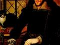 Джон де Критс,  «Меланхолик с черным котом»