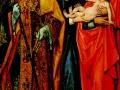 Неизвестный мастер, «Анна, святые Христофор, Георгий и Петр»