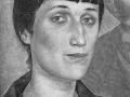 «Портрет Анны Ахматовой», х.м., 1922