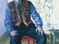 Александр Дейнека , «Портрет художника Константина Вялова», х.м.