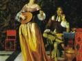 Ван дер Неер, «Громко играющая девушка», х.м.