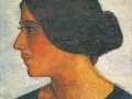 Портрет жены художника Наталии Оскаровны Плигиной-Камионской, 1924-1925 гг.