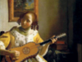 Ян Вермеер. «Гитаристка». 1672