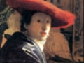 Ян Вермеер. «Девушка в красной шляпке». 1668