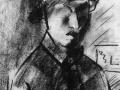 «Автопортрет». 1923. Карандаш