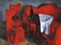 «Красная мебель».1920. х.м.