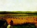 Венецианов, «На жатве. Лето», 1820 г.