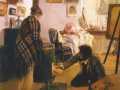 Илларион Прянишников. В мастерской художника. 1890. Х., м.