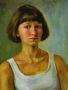 Анастасия Вдовина, 17 лет, г.Омск, школа портрета А. Мовляна, автопортрет