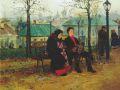 Владимир Маковский. На бульваре.1886