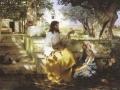 Генрих Семирадский. Христос и грешница