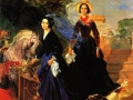 Карл Брюллов. Портрет сестер Шишмаревых. 1839. Х., м.