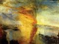 «Пожар в Лондонском парламенте». 1835. х.м.