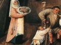 Иероним Босх. Семь смертных грехов. (Фрагмент)