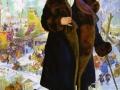 Борис Кустодиев. Портрет Ф.И. Шаляпина. 1922. Х., м.