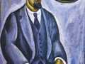 Пётр Кончаловский. Автопортрет. 1911. Х., м