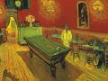 «Ночное кафе»,1888 г., х.м.