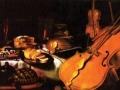 Ритер Глаесц. «Натюрморт с музыкальными инструментами». Х.м. 1623