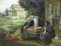 Василий Максимов. Всё в прошлом. 1889. Х., м. Фрагмент.