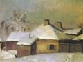 Николай Крымов. Зимой в провинции. 1933. Х., м.