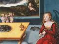 Лукас Кранах. Меланхолия. 1532. Фрагмент.
