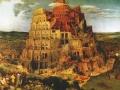 Питер Брейгель Старший. Вавилонская башня. 1563. Фрагмент.