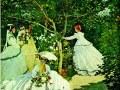 Клод Моне, «Женщины в саду», 1867 г., х.м