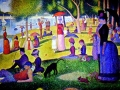"""Жорж Сера, """"Воскресная прогулка в Гранд-Жаттх"""", х.м."""