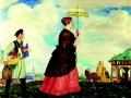 Борис Кустодиев, «Купчиха с покупками», 1920 г