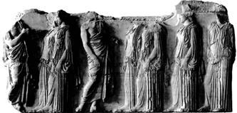 GRAYФрагмент фриза Парфенона
