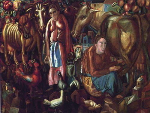 Павел Филонов(1883-1941) Введенская сторона