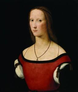 Лоренцо Коста. Женский портрет. 1500–1506. Х., м.