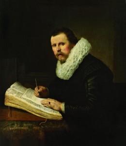 Портрет учёного Рембрандт Харменс ван Рейн. Голландия. 1631