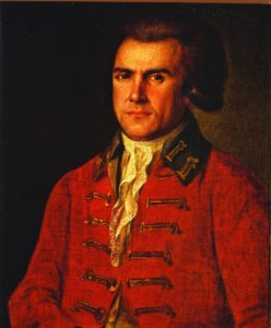 Андрей Болотов. Автопортрет. 1763. Х., м.