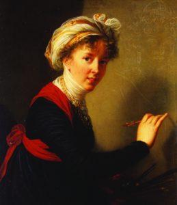 Элизабет Луиза Виже-Лебрен. Автопортрет. 1800. Х., м.