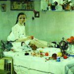 Portret-Vari-Adoratskoj.-1914.-H.-m